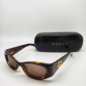 Gucci Tortoise Shell Sunglasses 2986